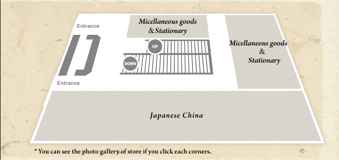 Japanese China, Miscellaneous goods, Stationery